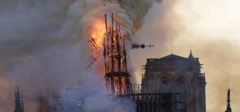 Об'єднаний горем. Євросоюз розмірковує над символізмом вогню Нотр-Дама